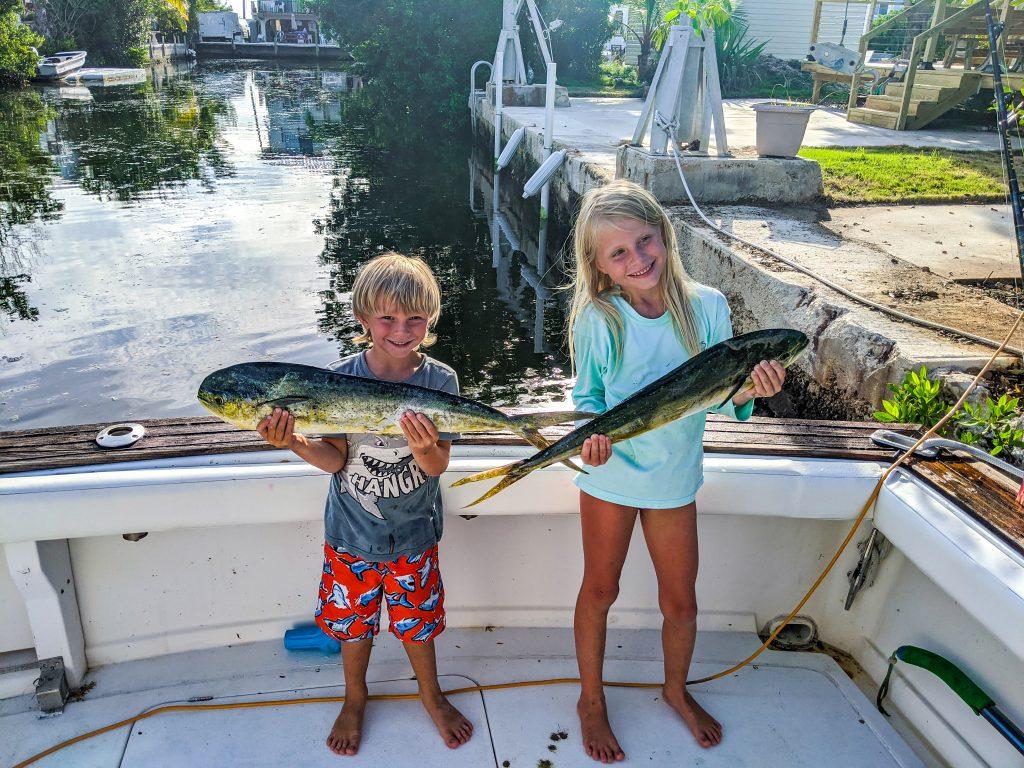 Kids Mahi Mahi Fishing