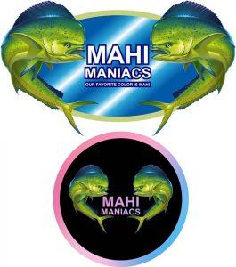 Mahi Maniacs Logo
